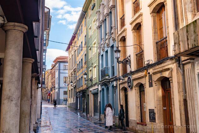 Asturias Aviles Centro Historico Gente