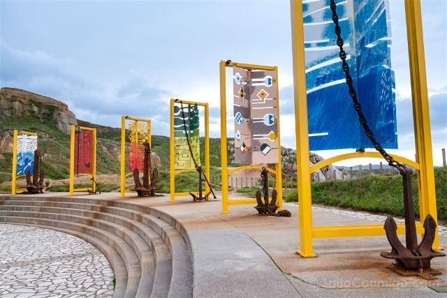 Asturias Aviles Salinas Museo Anclas