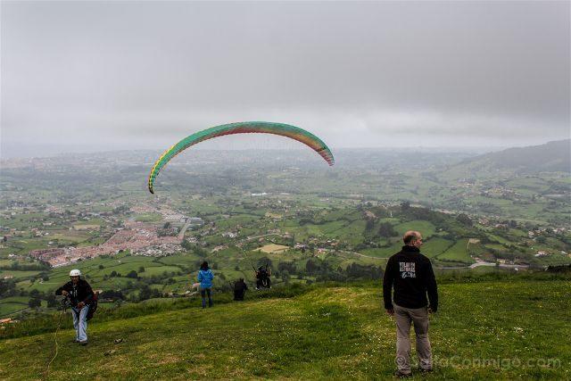Asturias Gijón Parapente