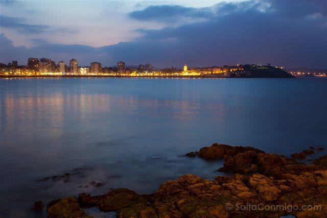 Asturias Gijon Hora Azul