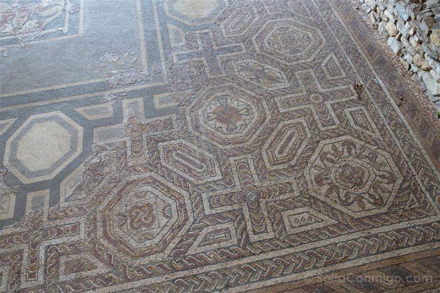 Asturias Gijon Villa Romana Veranes Mosaico
