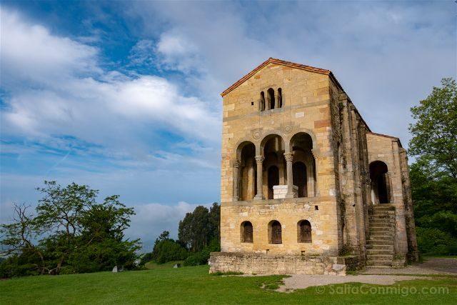 Asturias Oviedo Prerromanico Santa Maria Naranco