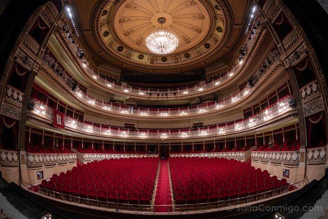 Asturias Oviedo Teatro Campoamor Interior