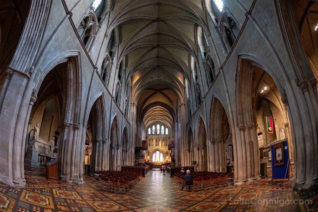 Irlanda Dublin Catedral San Patricio Interior