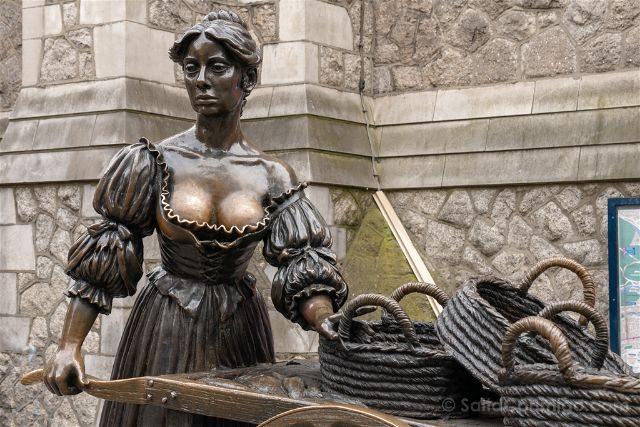 Irlanda Dublin Estatua Molly Malone