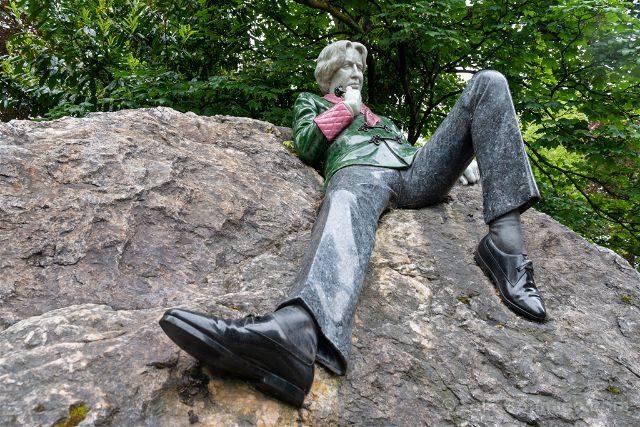 Irlanda Dublin Merrion Square Oscar Wilde Serio