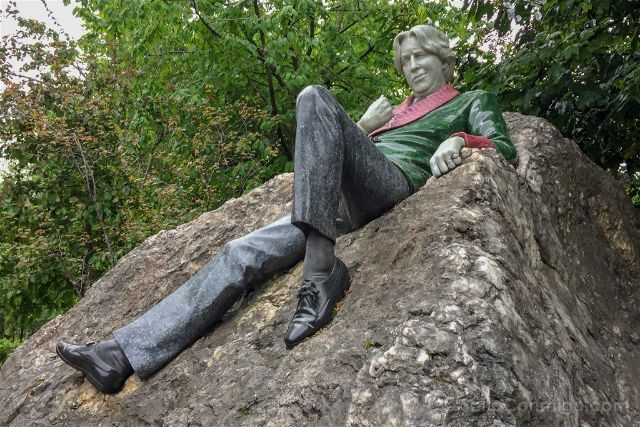 Irlanda Dublin Merrion Square Oscar Wilde Sonrisa