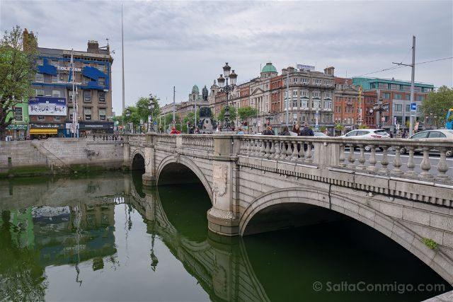 Irlanda Dublin O'Connell Bridge