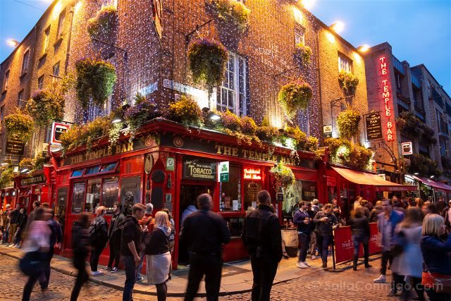 Irlanda Dublin Temple Bar