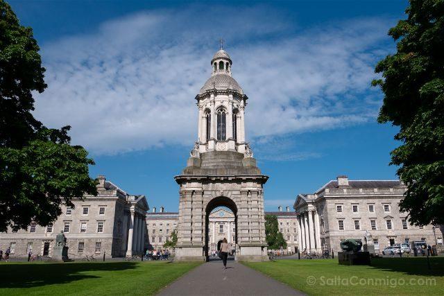 Irlanda Dublin Trinity College Exterior