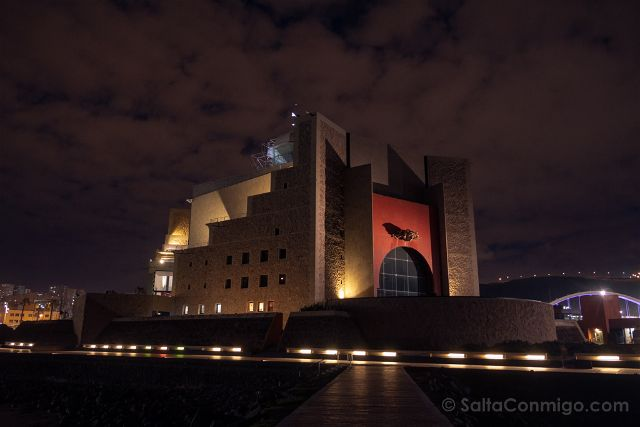 Las Palmas de Gran Canaria Auditorio Alfredo Kraus Exterior