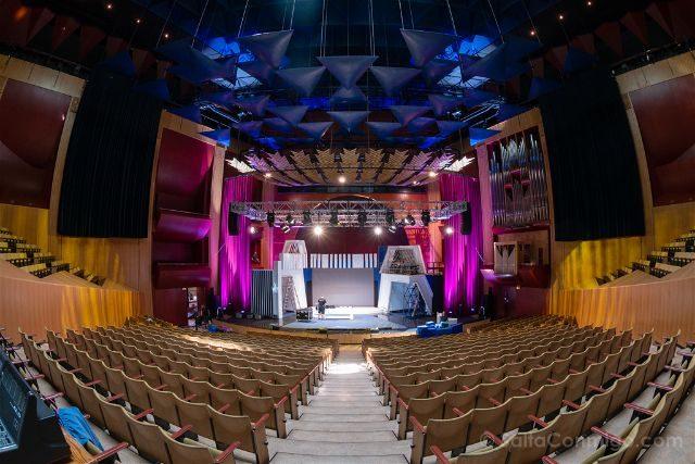 Las Palmas de Gran Canaria Auditorio Alfredo Kraus Interior