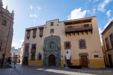Las Palmas de Gran Canaria Casa Colon Fachada
