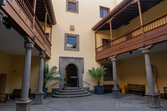 Las Palmas de Gran Canaria Casa Colon Patio