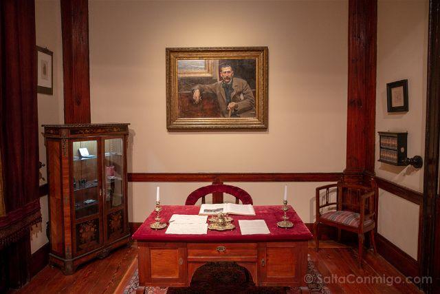 Las Palmas de Gran Canaria Casa Museo Benito Perez Galdos Escritorio