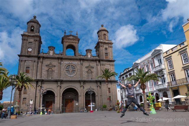 Las Palmas de Gran Canaria Catedral Salto
