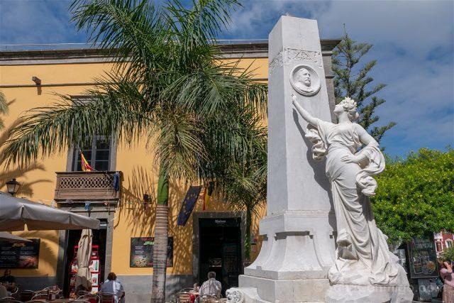 Las Palmas de Gran Canaria Estatua Loreto