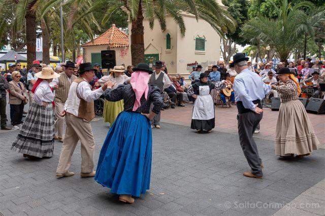 Las Palmas de Gran Canaria Parque Santa Catalina Bailes