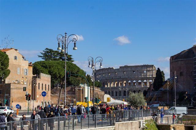 Roma Coliseo Calle