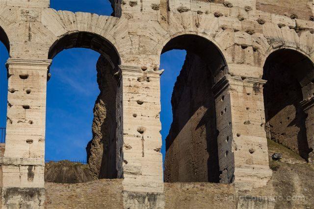 Roma Coliseo Exterior Detalle Arcos