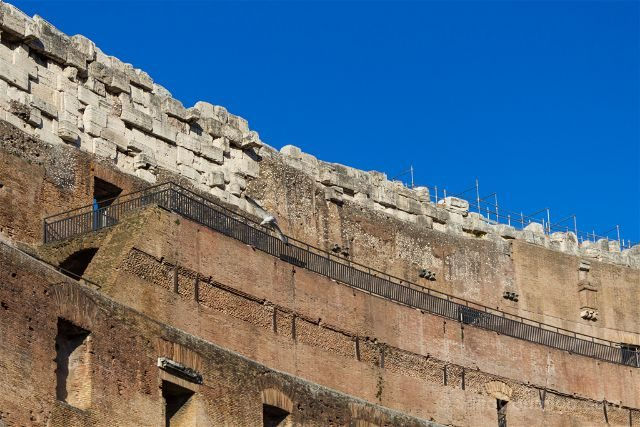 Roma Coliseo Grada Superior