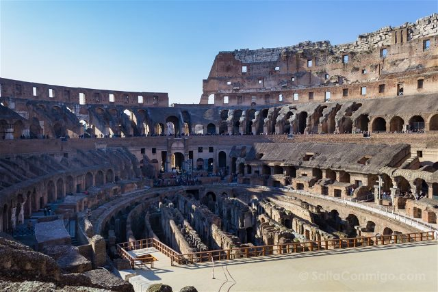 Roma Coliseo Interior
