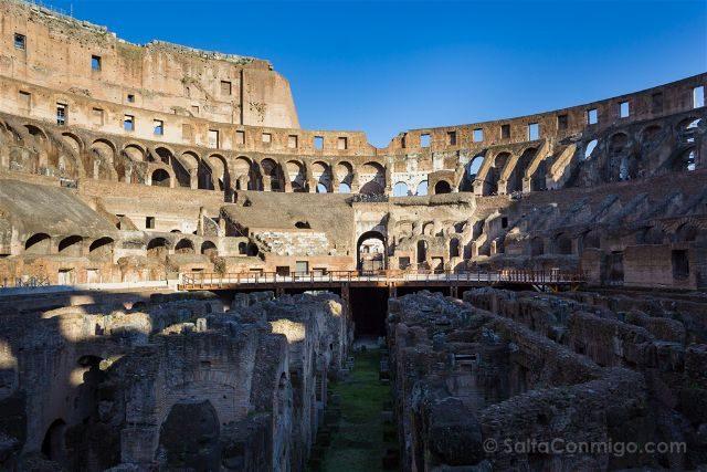 Roma Coliseo Interior Arena