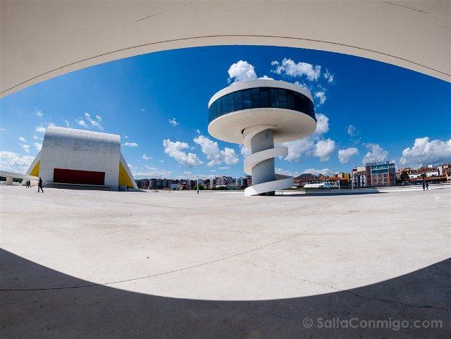 Asturias Aviles Centro Niemeyer Auditorio Mirador