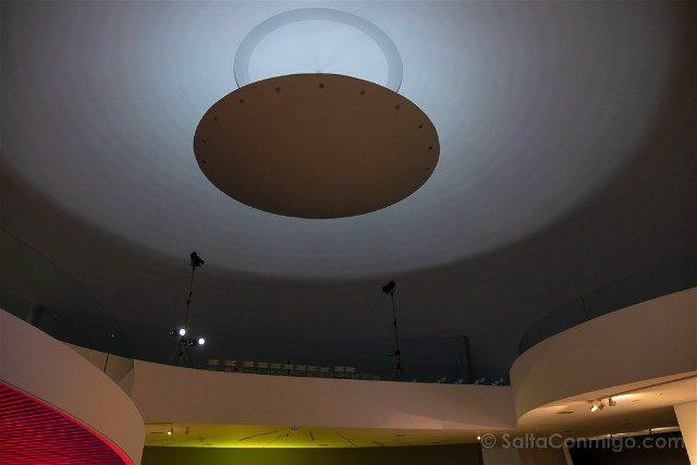 Asturias Aviles Centro Niemeyer Cupula Lampara