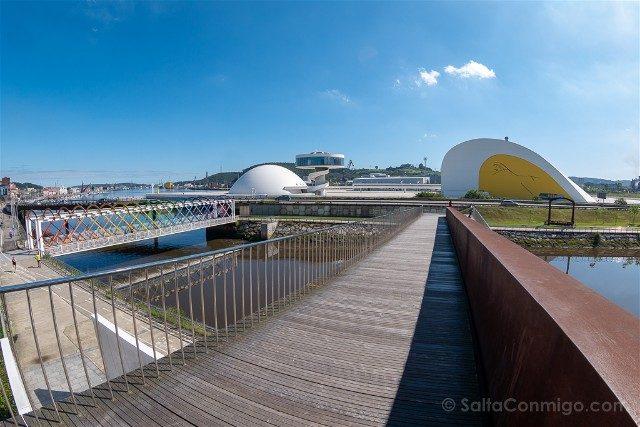 Asturias Aviles Centro Niemeyer Grapa