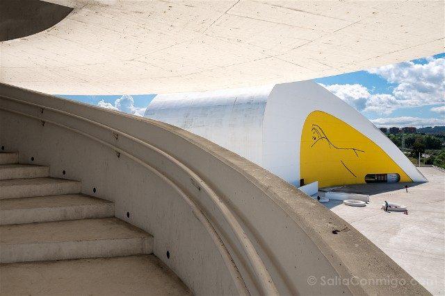 Asturias Aviles Centro Niemeyer Mirador Auditorio