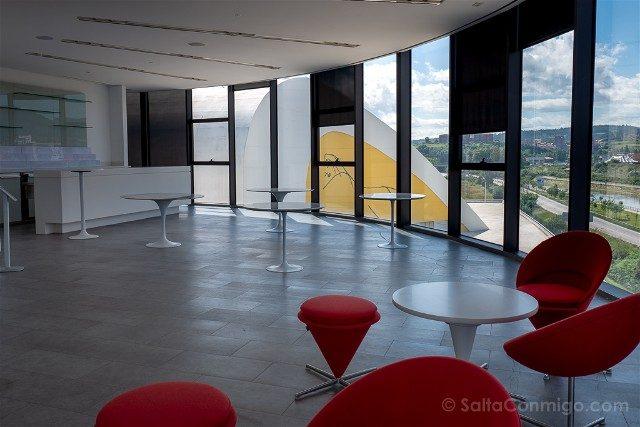 Asturias Aviles Centro Niemeyer Mirador Interior
