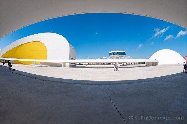 Asturias Aviles Centro Niemeyer Pasarela