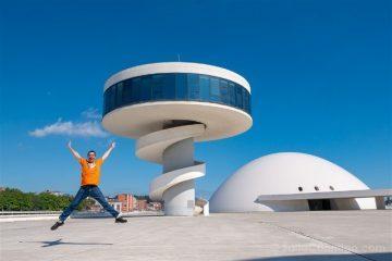 Asturias Aviles Centro Niemeyer Salto