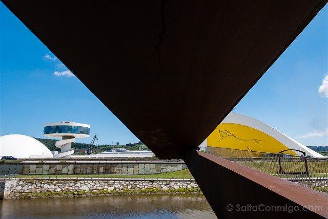 Asturias Aviles Centro Niemeyer Vista Grapa