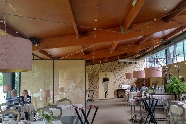 Asturias Gijon Restaruante La Salgar Estrella Michelin Sala