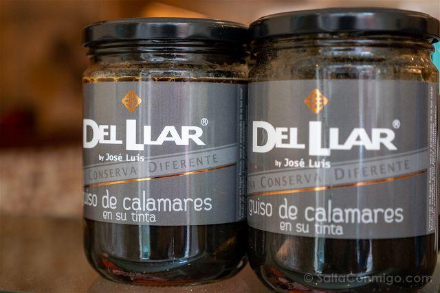 Asturias Gijon Tienda Gourmet Del Llar Calamares Tinta