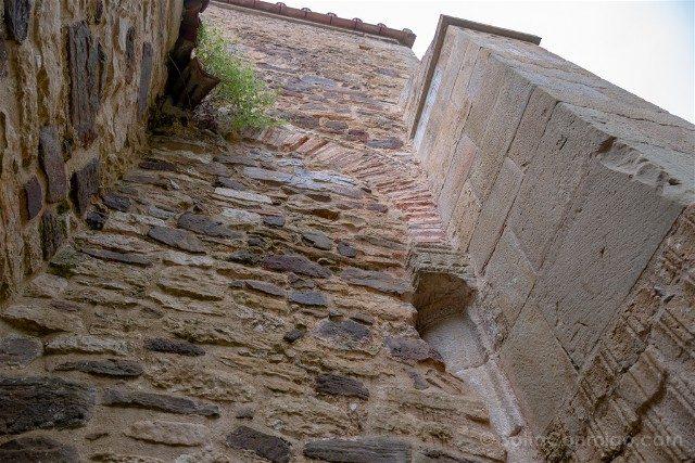 Asturias Oviedo Prerromanico Naranco San Miguel Lillo Transepto Fachada