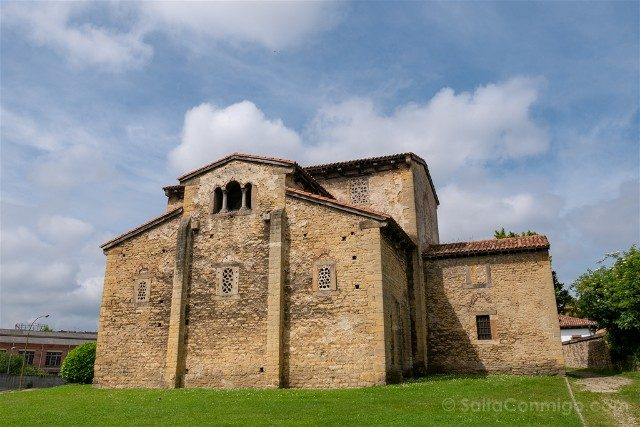 Asturias Oviedo Prerromanico San Julian Prados Abside