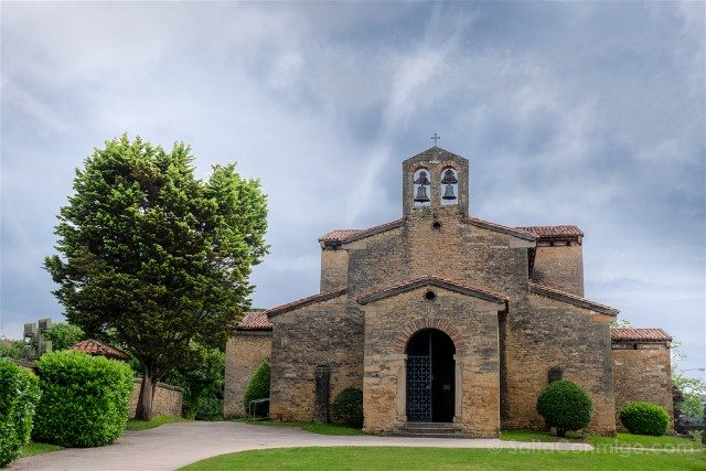 Asturias Oviedo Prerromanico San Julian Prados Fachada
