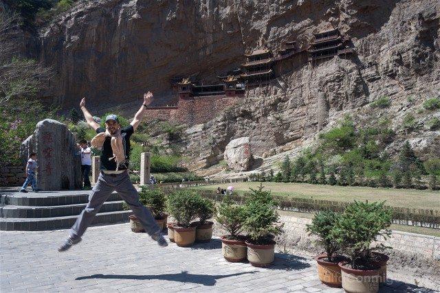 China Datong Templo Xuankong Salto