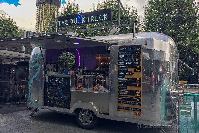 Comer En Londres Food Truck