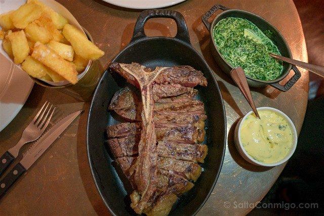 Comer En Londres Hawksmoor T-Bone