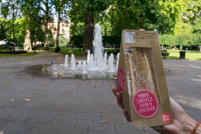 Comer En Londres Tesco Sandwich