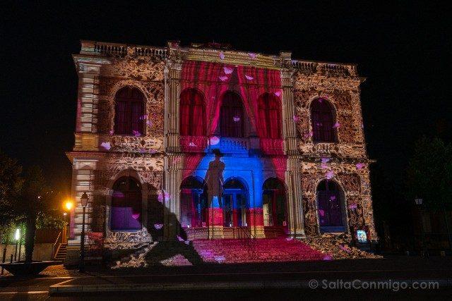 Francia Chartres en Lumieres Teatro Telon