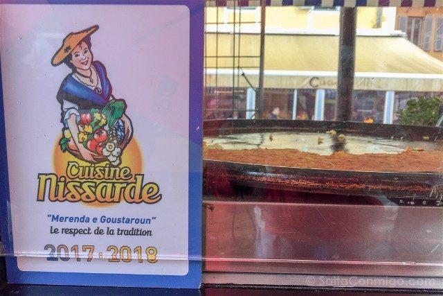 Francia Comer Niza Cuisine Nissarde