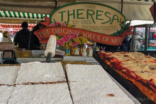 Francia Comer Niza Mercado Theresa