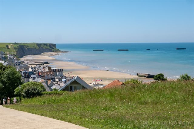 Francia Desembarco de Normandia Arromanches Gold Beach