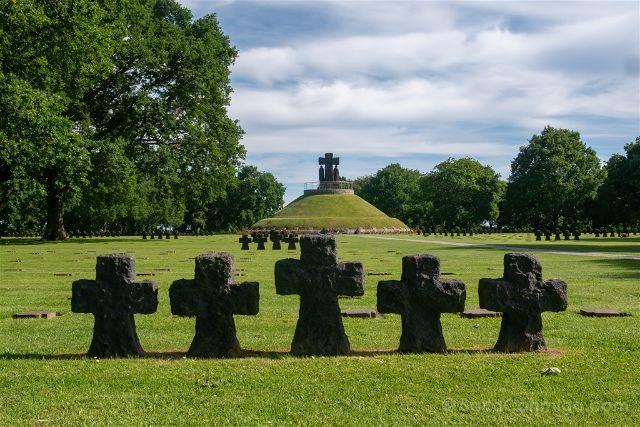 Francia Desembarco de Normandia Cementerio Aleman