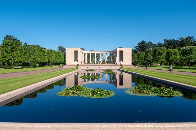 Francia-Desembarco de Normandia Cementerio Americano Memorial